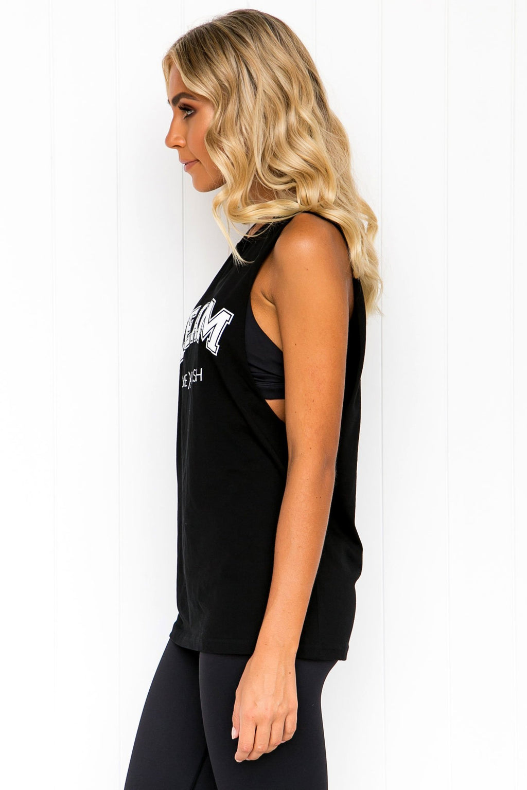 TEAM Pure Dash Tank - Black - PURE DASH