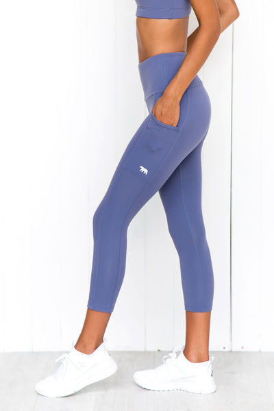 Power Moves 7/8 Tights - Nigella