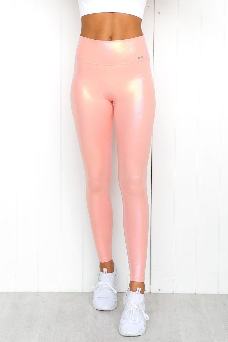Peach Shine On Tights - PURE DASH