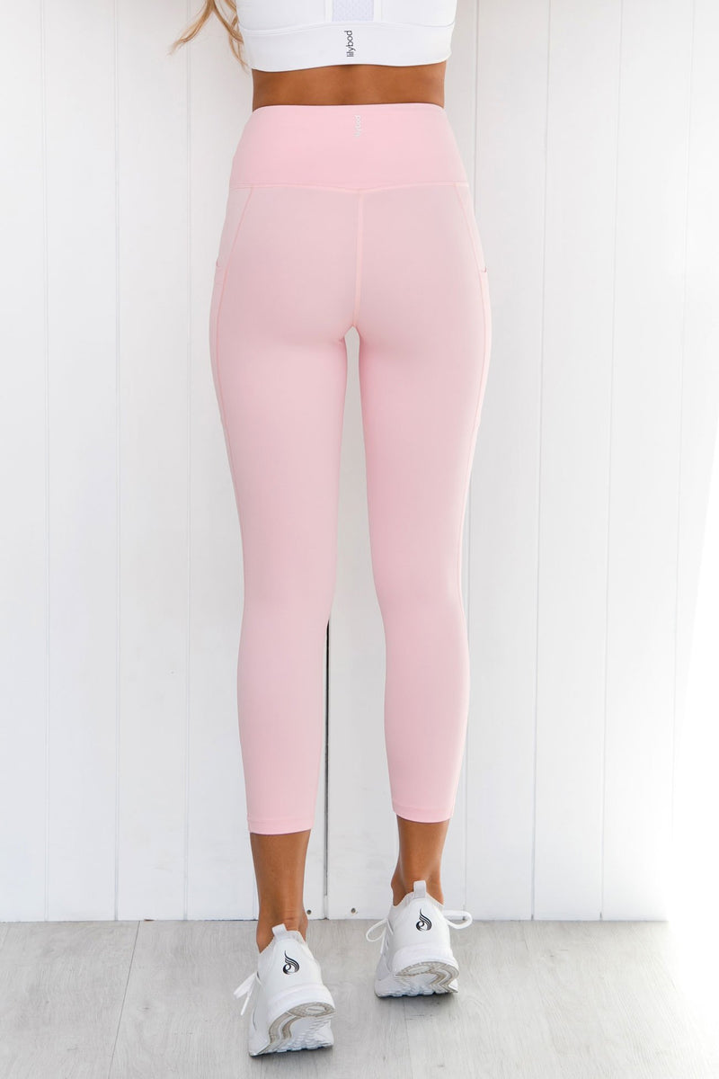 Layla Coral Blush Leggings - PURE DASH