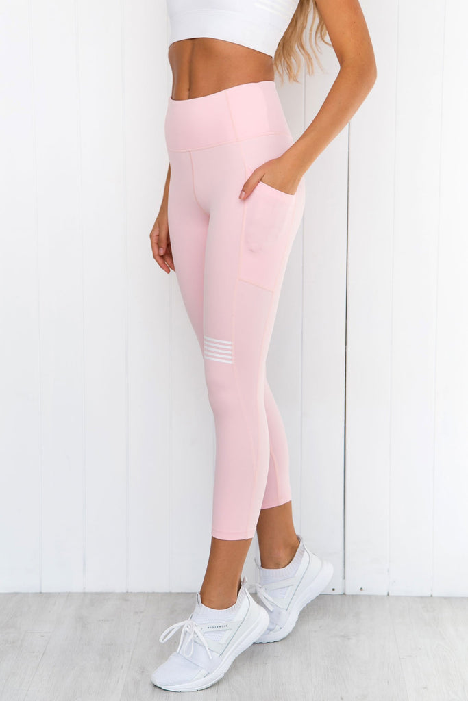 Layla Coral Blush Leggings