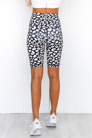 Rosie High Rise Bike Short - PURE DASH