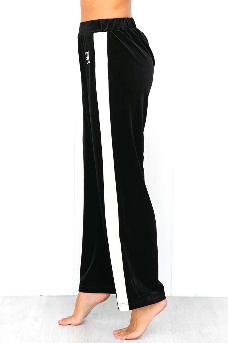 Easy Tiger Flared Pant - Black - PURE DASH