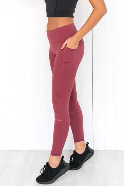 Alex Crimson Scorch Leggings - PURE DASH