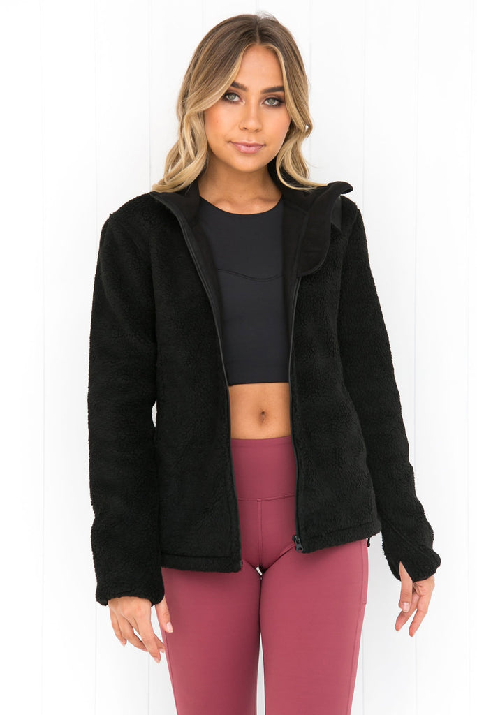Oh So Fluffy Jacket - PURE DASH