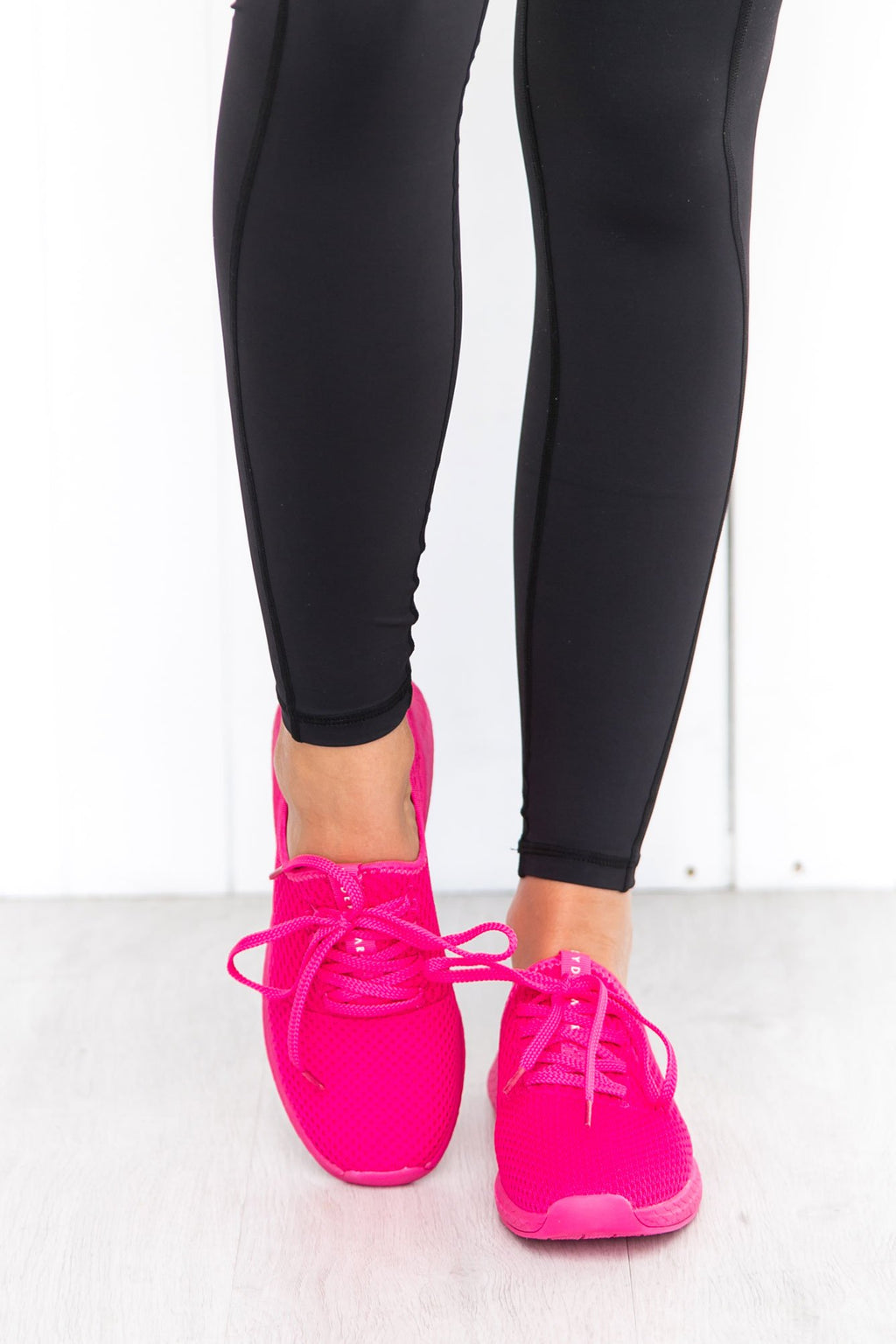 Neon Pink Power Trainers - PURE DASH
