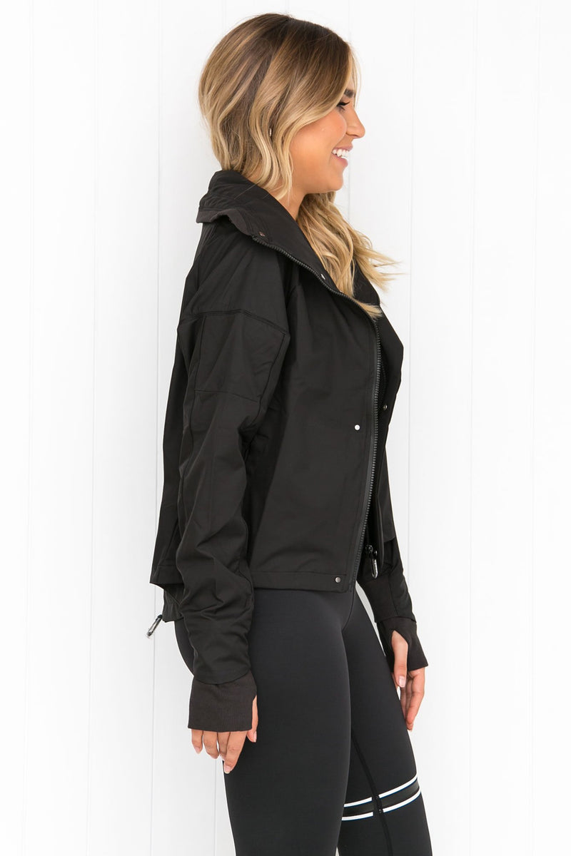 Astrid Tarmac Black Jacket - PURE DASH