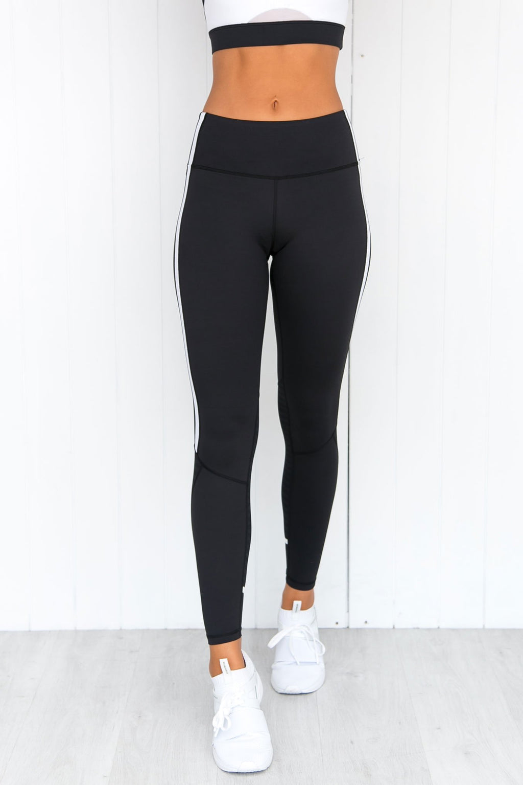 Mica Tarmac Black Leggings - PURE DASH