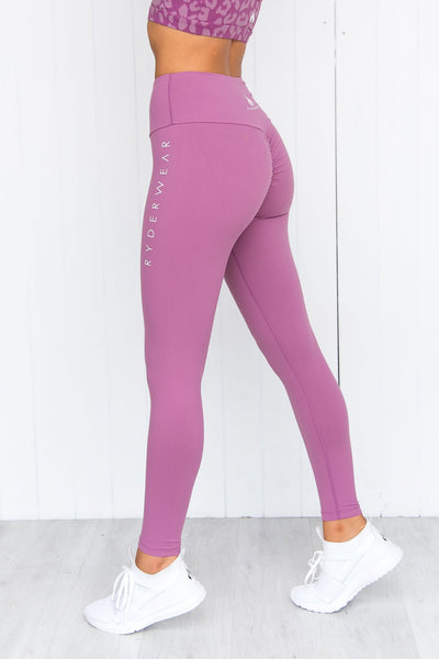 Instinct Scrunch Bum Leggings - Purple
