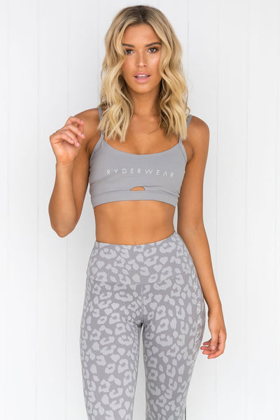 Animal Sports Bra - Grey - PURE DASH