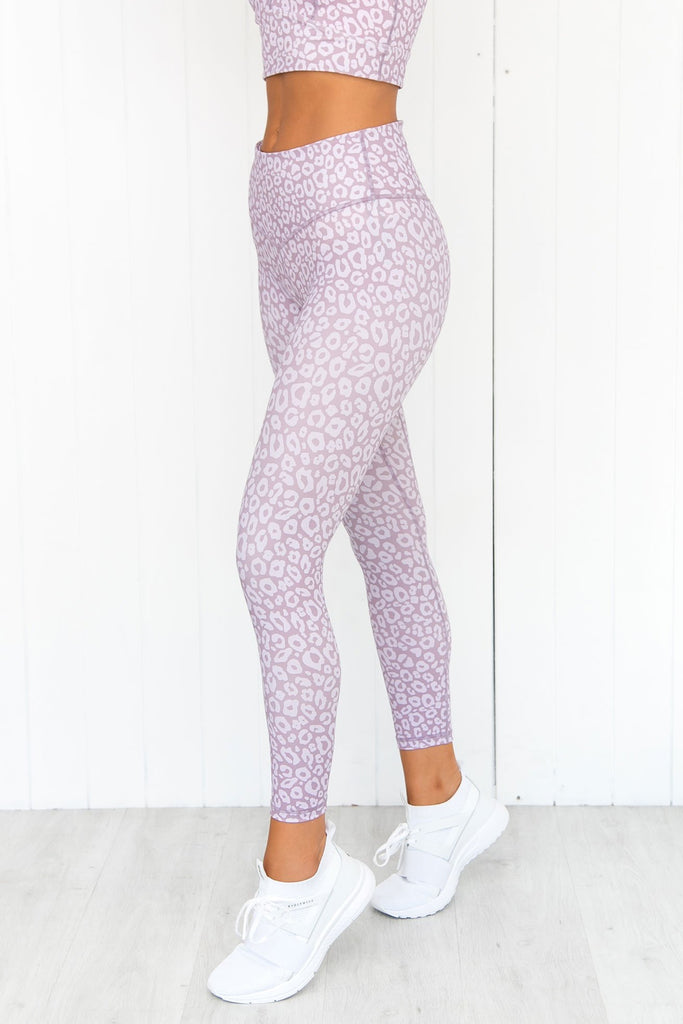 Soft Ambience 7/8 Legging - Lilac - PURE DASH