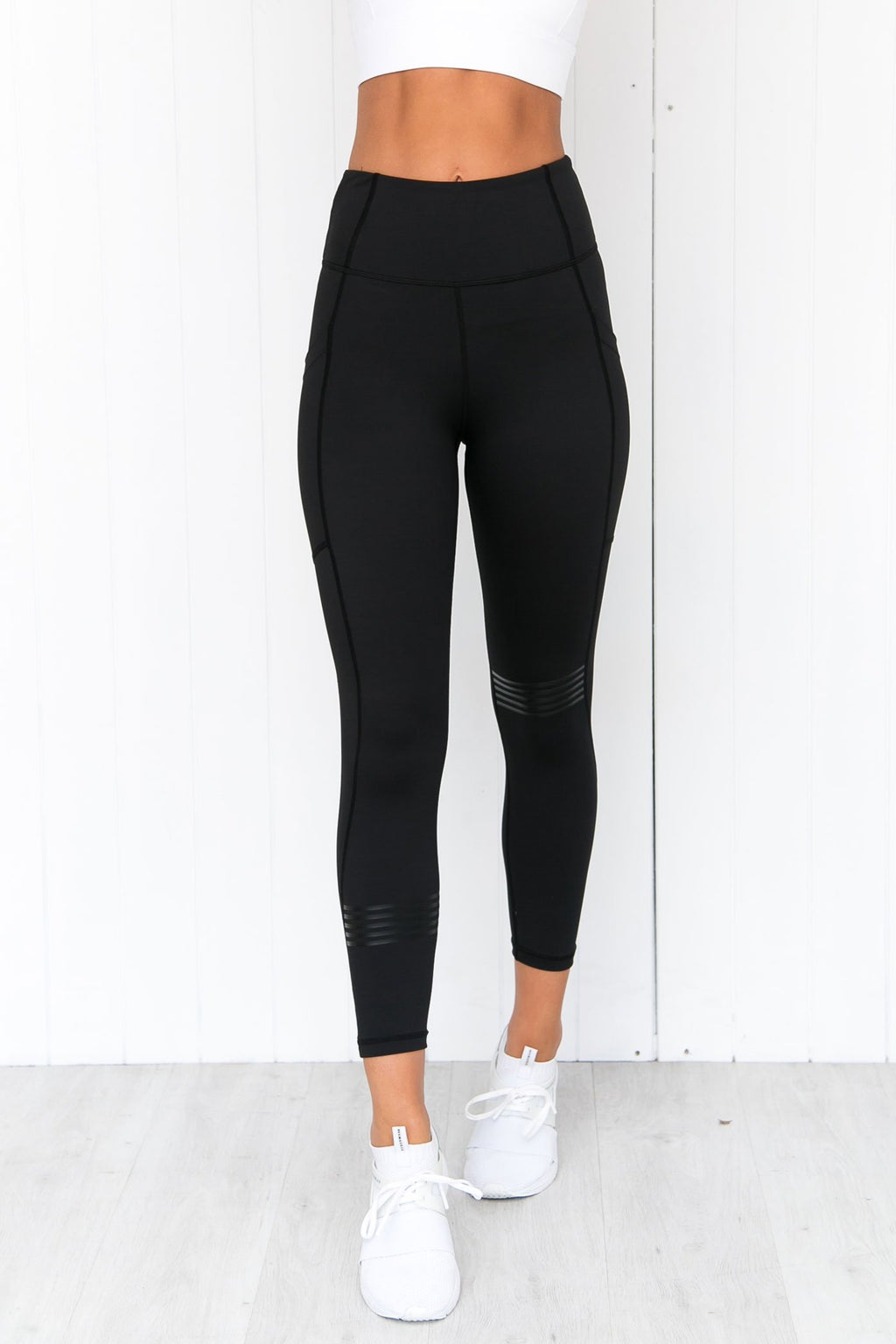 Layla Phantom Black Leggings - PURE DASH