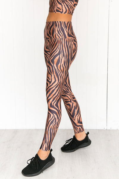 Tiger High Rise Leggings