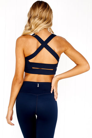 Cindy Midnight Crush Crop - PURE DASH
