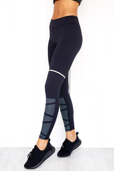 Bobbi Jet Black Leggings - PURE DASH