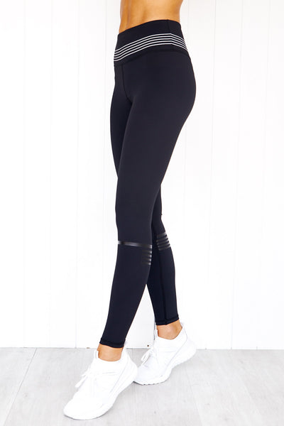 Holly Runway Black Leggings - PURE DASH
