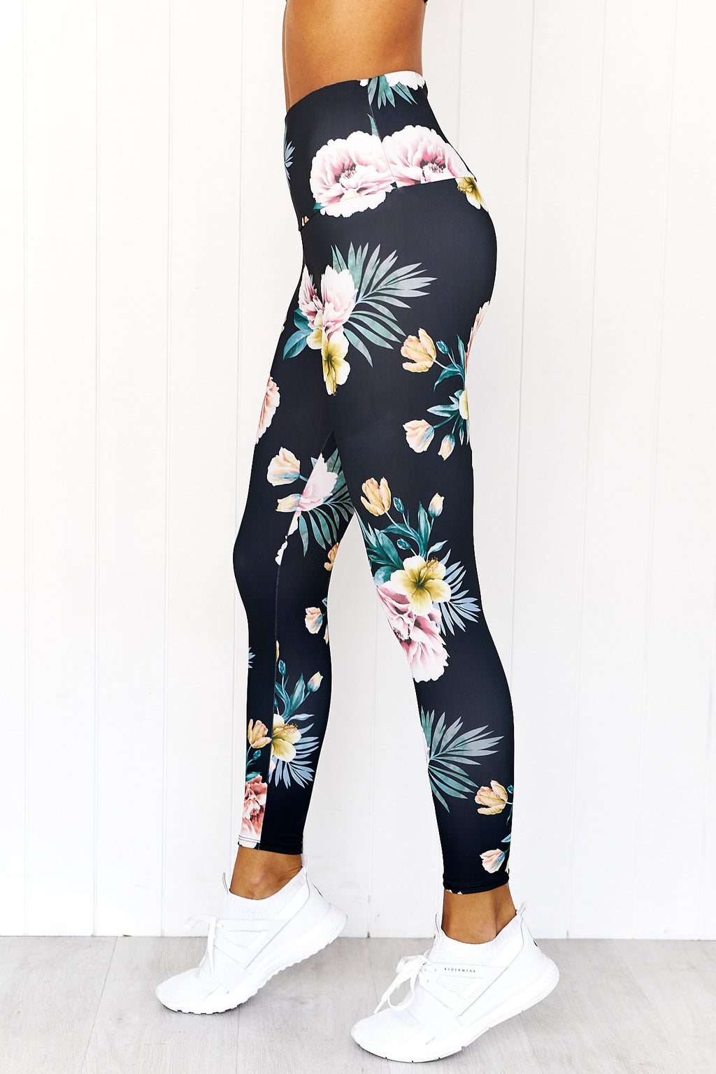 Secret Garden Midi Legging - PURE DASH