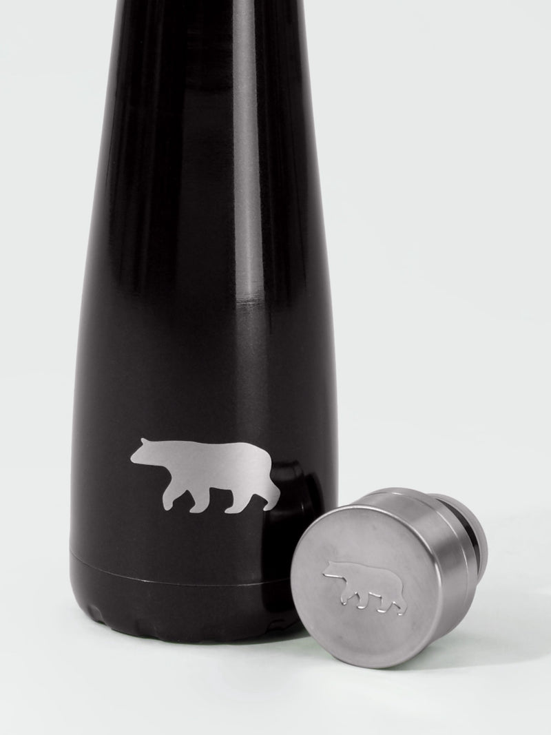 Bear Be Cool Bottle - Black - PURE DASH