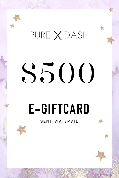 $500 GIFT CARD - PURE DASH