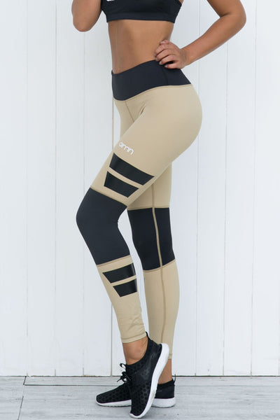 Savannah Squad High Waist Tights - PURE DASH
