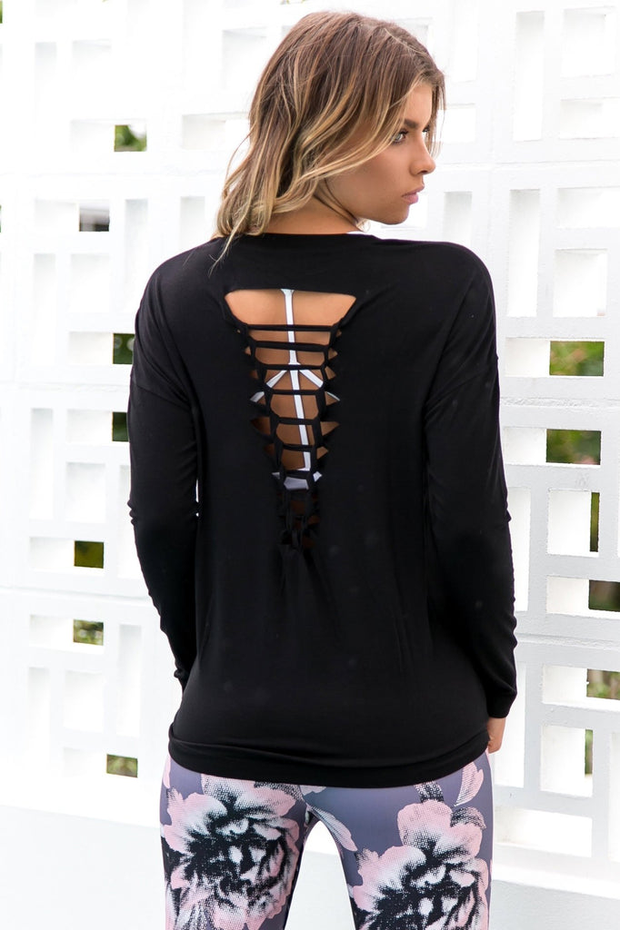 Braided Long Sleeve Top - PURE DASH