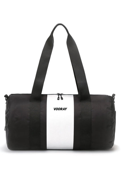 Iconic Gym Bag - Silver Stripe