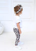 Junior Snow Leopard Leggings