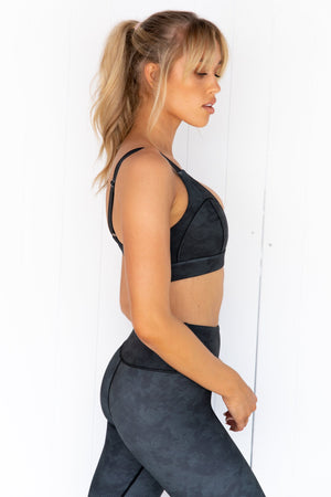 Rivaa Sports Bra - Black