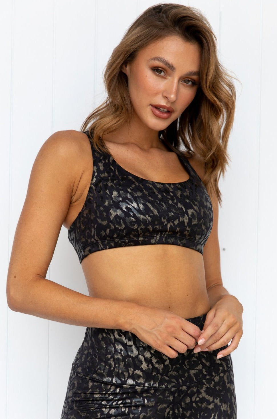 Regal Animal Foil Mudra Bra