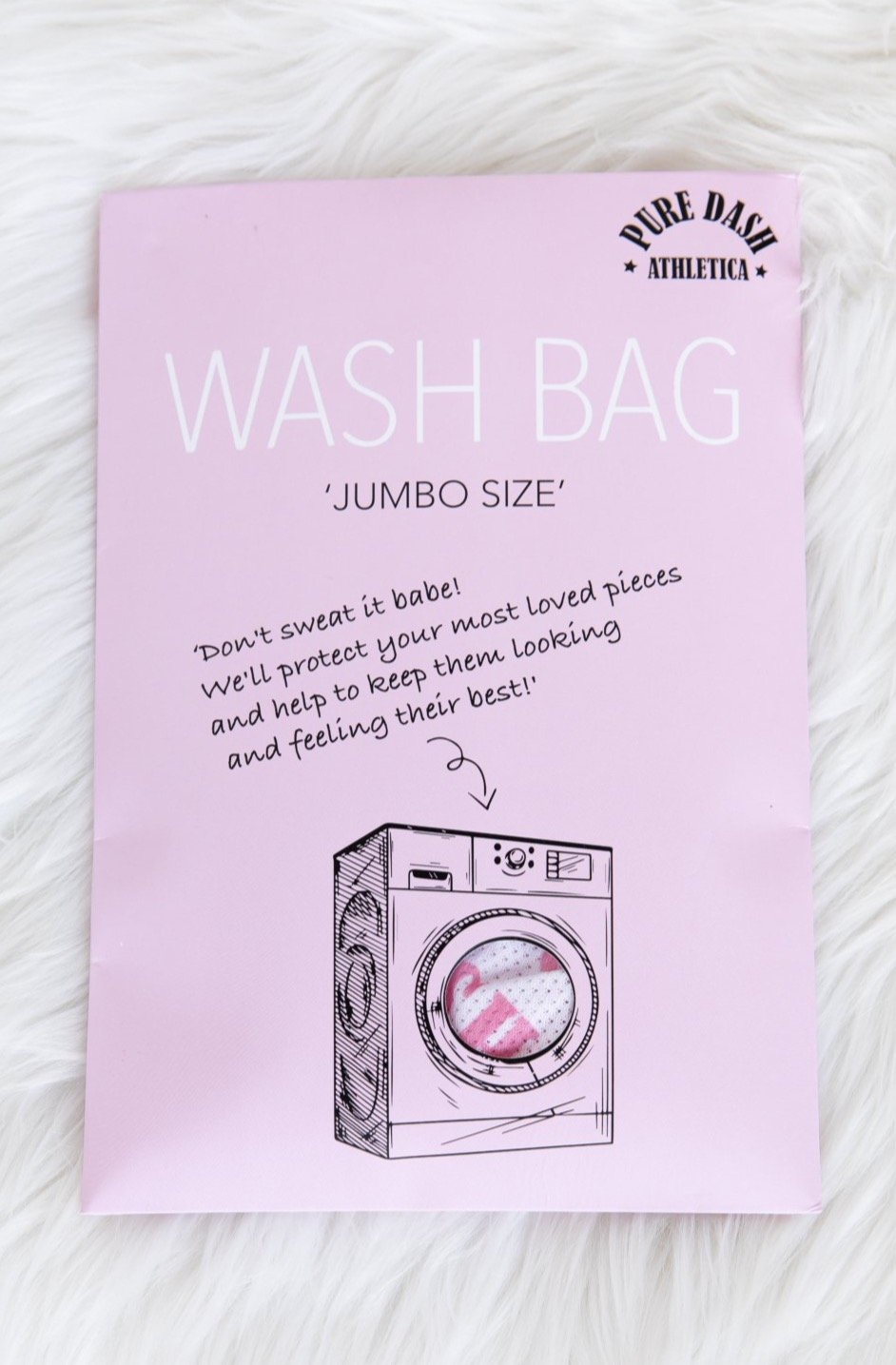 Jumbo Pure Dash Wash Bag