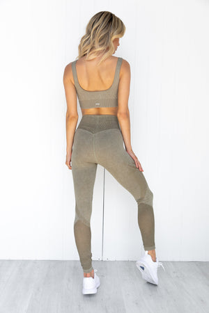 Wild Olive Statement Seamless Tights