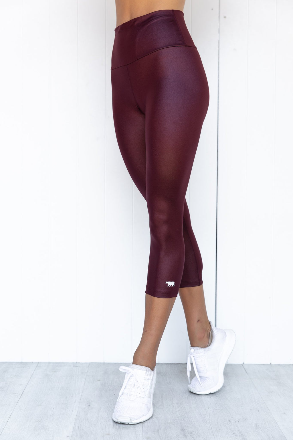 Crystal Werk It  3/4 Tight - Claret