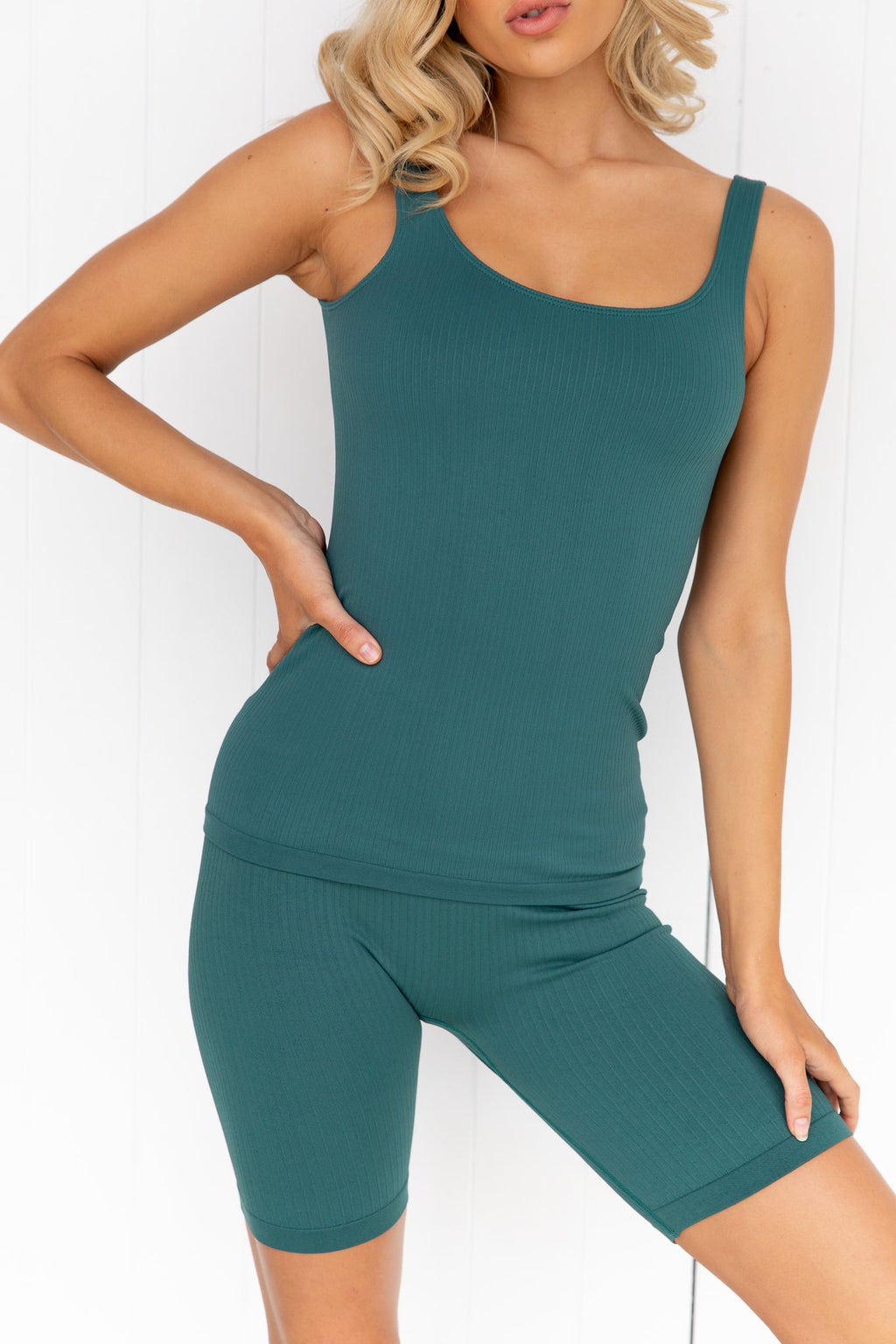 Hydro Ribbed Seamless Singlet