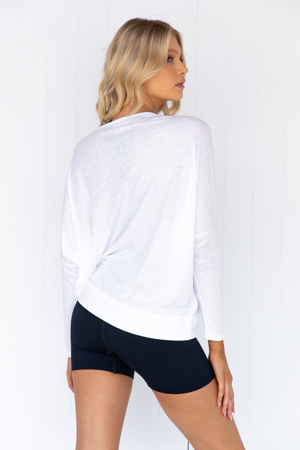 Vintage Long Sleeve Top - White
