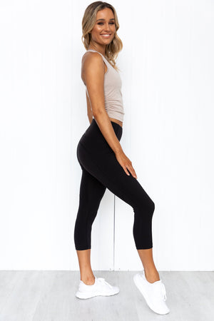 Push It Cropped Active Tank - PURE DASH