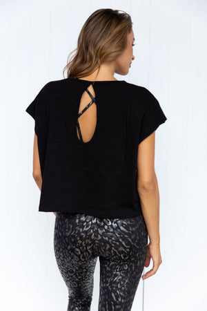 Mind Over Body Tee - Black