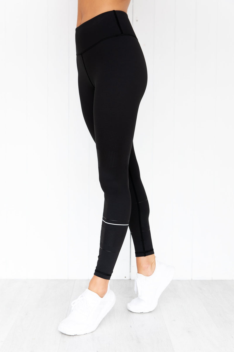 Madison Graphite Black Leggings