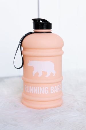 H20 Bear Bottle - Peach