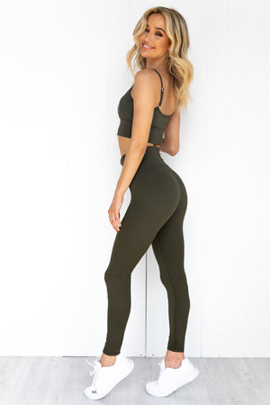 Khaki Aim High Tights