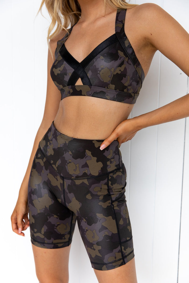 Survivor Bralette - Black