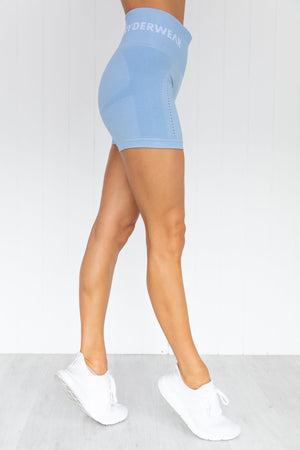 Seamless Staples Shorts - Denim Blue Marl
