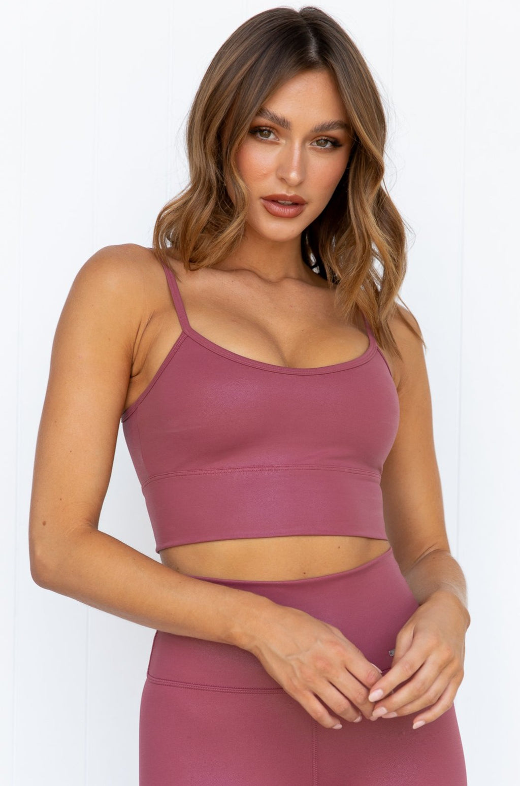 Pink Beat Shine On Strap Bra