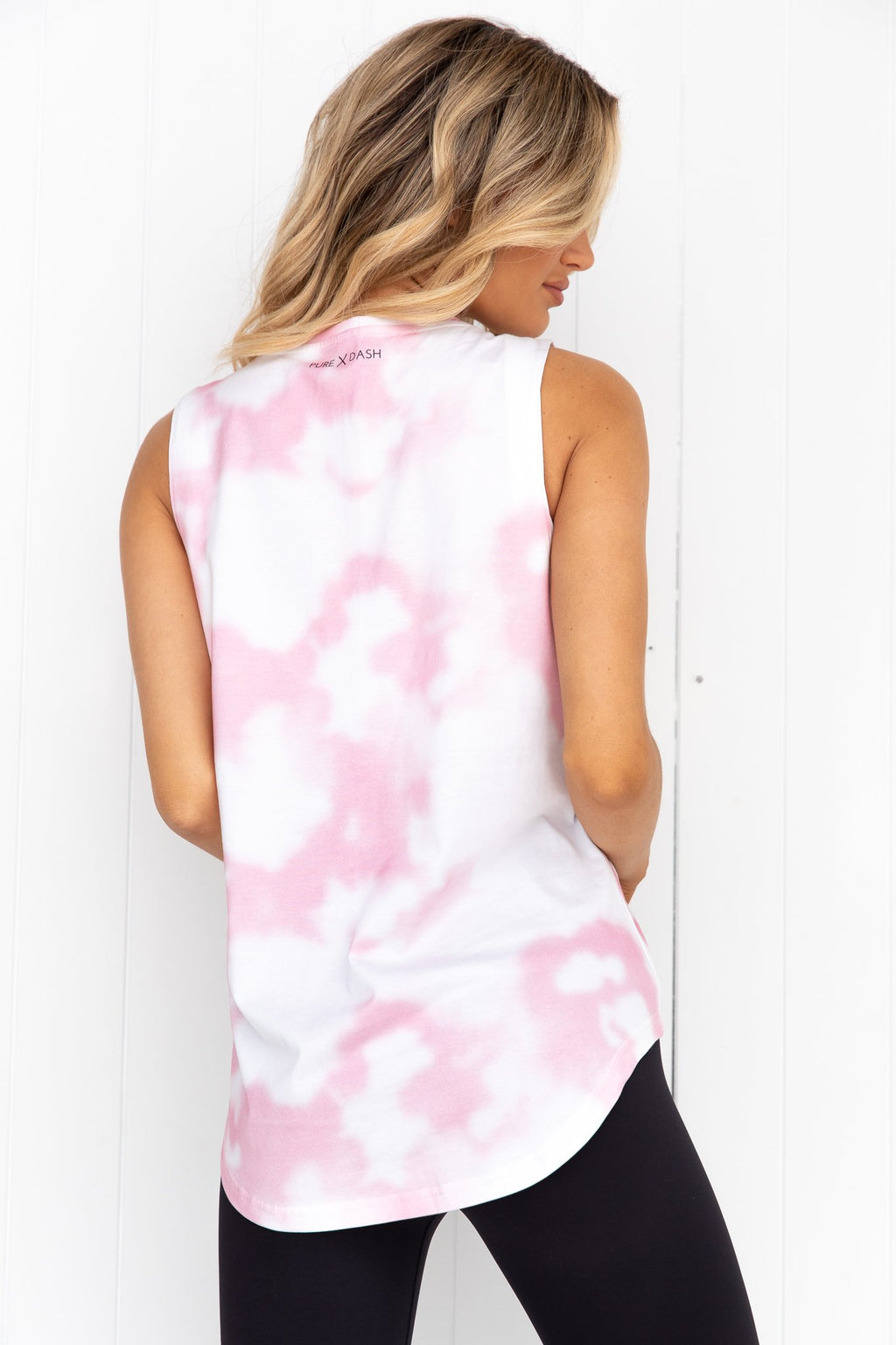 Always On Tank - Pink Tie Dye