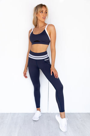 Ryann Sports Bra - Mood Indigo