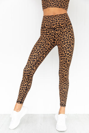 Dusk Leopard High Rise Leggings