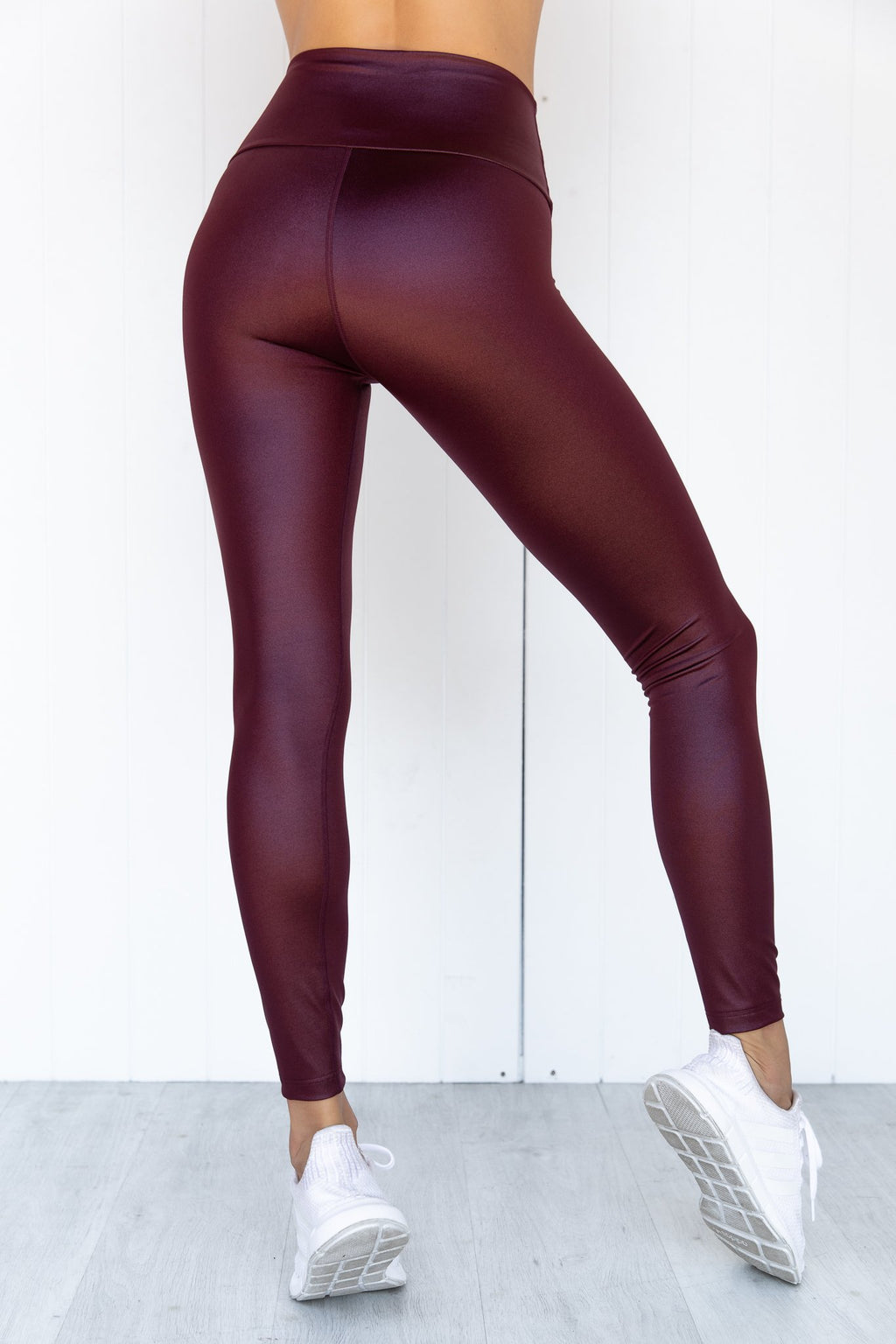 Crystal Werk It Tights - Claret