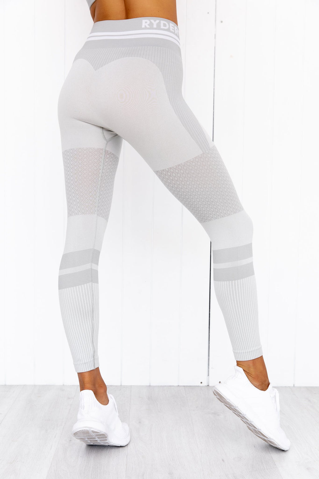 Freestyle Seamless High Waisted Leggings - Grey - PURE DASH