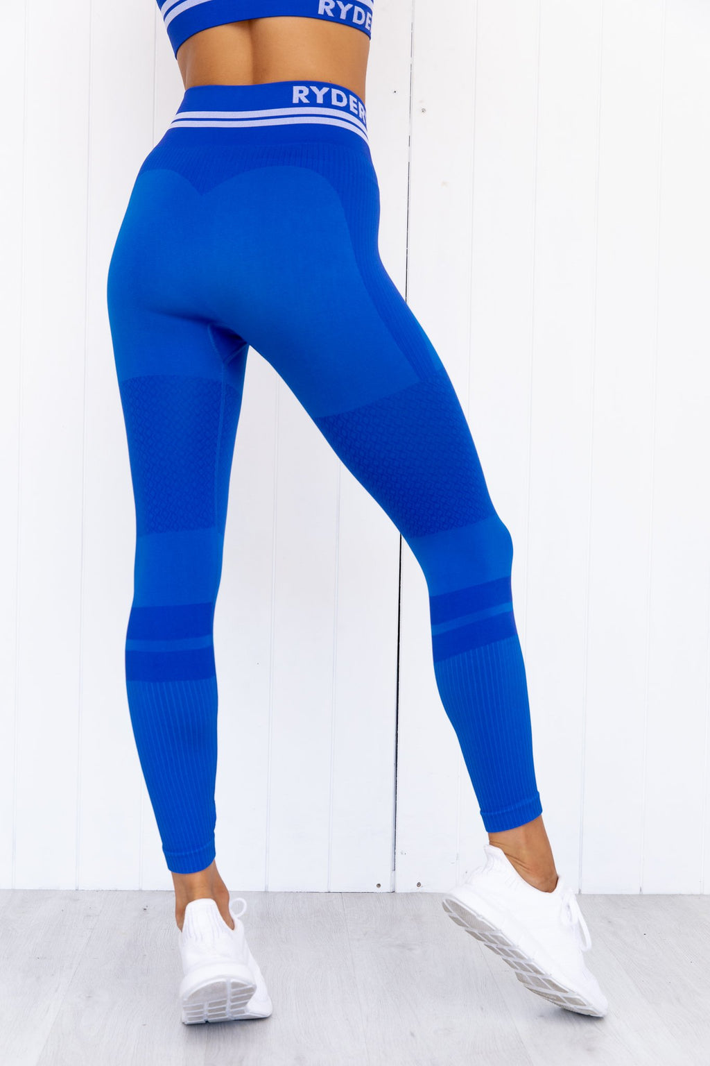 Freestyle Seamless High Waisted Leggings - Blue - PURE DASH