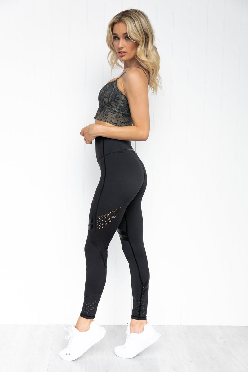 All Black Rapid Tights