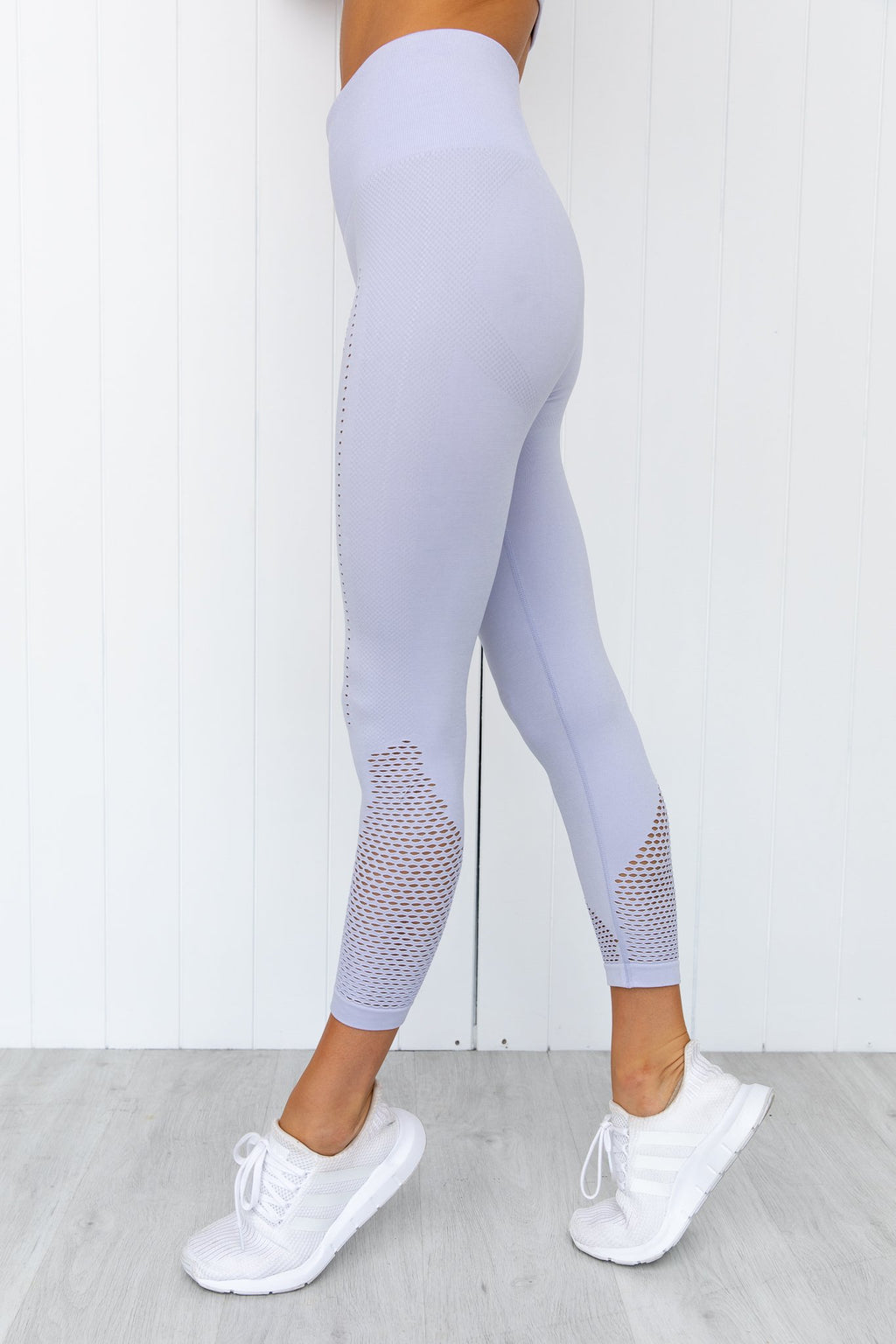 Seamless Staples Leggings - Lilac Marl